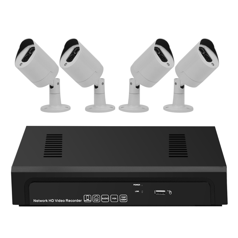 Wholesale Sentinel Pro - 4 Channel 1080P NVR Kit with 4 HD PoE Cameras (Motion Detection, Alarm, Remote View)