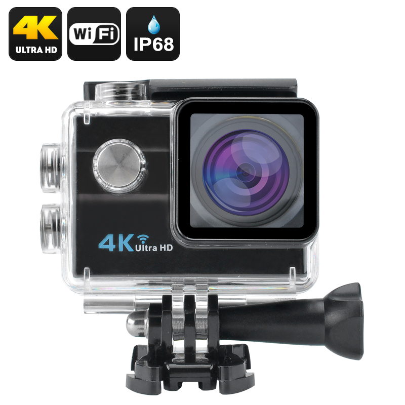 Wholesale 4K HD Wi-Fi Waterproof Sports Camera (16MP, H.264, 2 Inch LCD, H