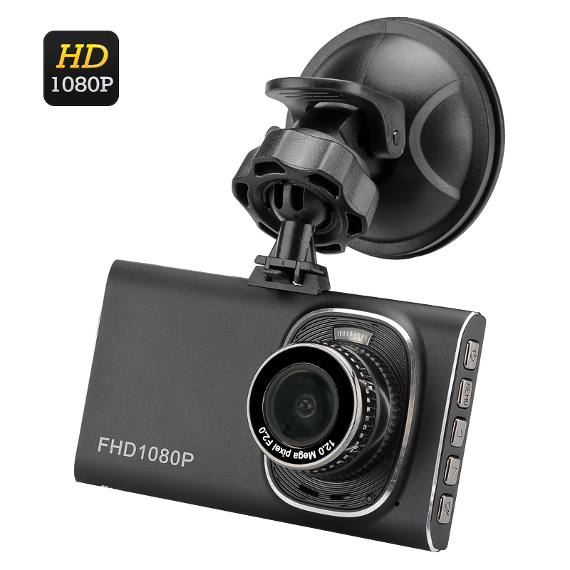 Wholesale 1080p Full HD 5MP Car DVR Video Recorder (3 Inch TFT Screen, 120 Degree Wide Angle, G-Sensor, 12MP Photo)