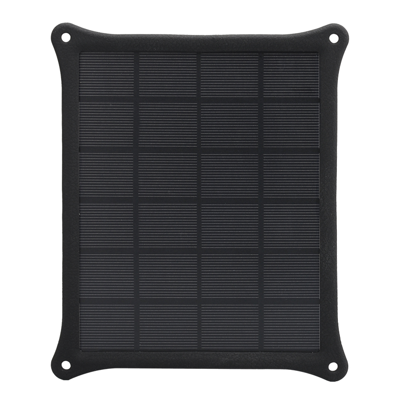 Wholesale 5W Portable IP55 Weatherproof Solar Charger - Black