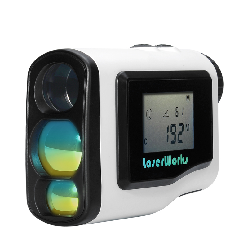 Wholesale 600 Meter Waterproof Laser Golf Rangefinder (6x Zoom, LCD Display, Fog/Scan Mode)