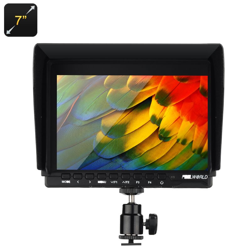 Wholesale 7 Inch On Camera DSLR Monitor (1280x800, Peaking Focus, HDMI, Zoom-in + Image Flip)