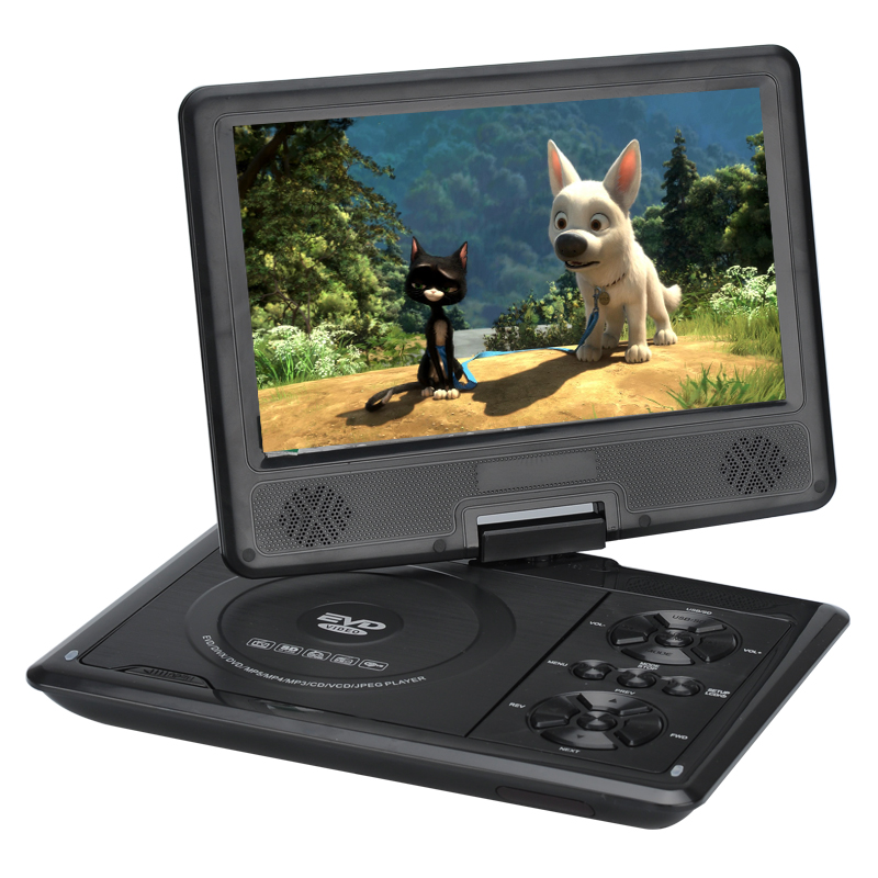 Portable Dvd Player With 9 Inch 270 Degree Swivel Screen Region Free 16 9 1280x800 Tacc