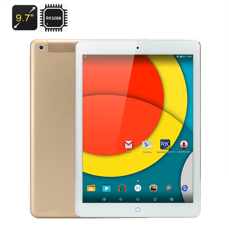 Wholesale Gear Pro - 9.7 Inch Retina Screen Android Tablet PC (2048x1536, Quad Core 1.8GHz CPU, 2GB RAM, 4K, 16GB)
