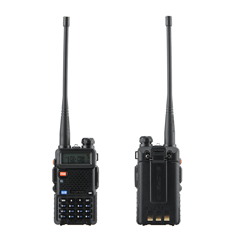 Wholesale Baofeng UV 5R Walkie Talkie with FM Radio and LED Torch (10km Ra