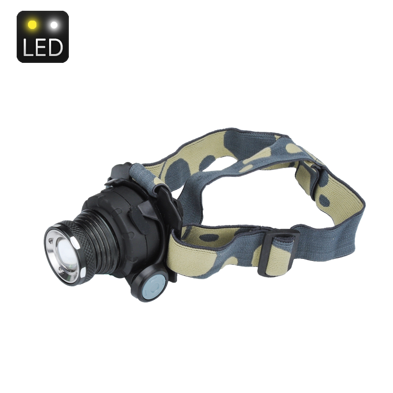 Wholesale Zoomable CREE LED Head Lamp (500 Lumens, 600mAh, 10W)