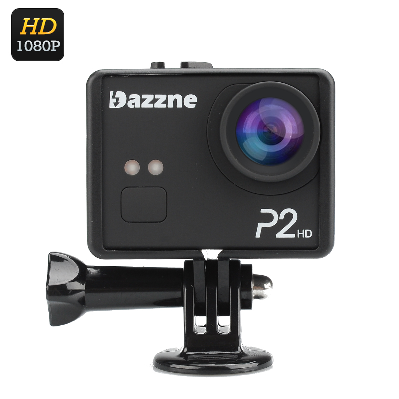 Wholesale Dazzne P2 12MP 1080p HD Sports Action Camera (2 Inch Screen, 130