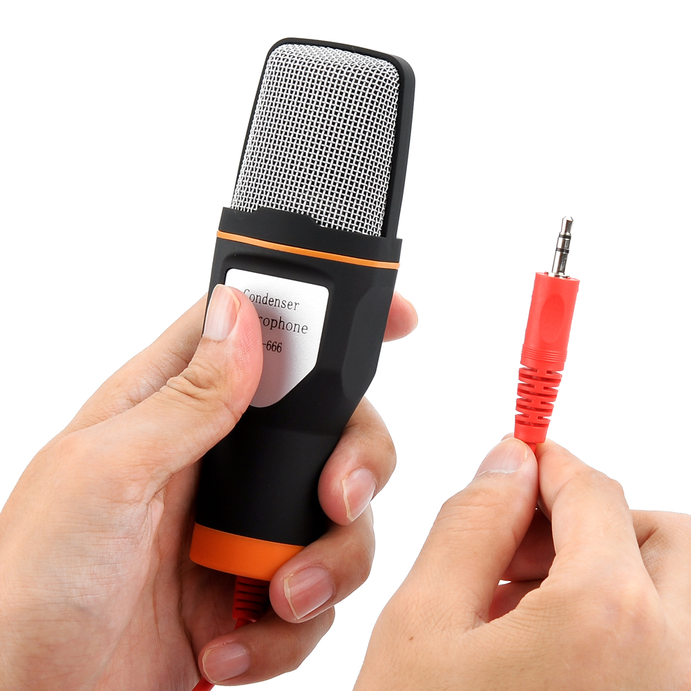 Stereo Condenser Microphone With Desktop Tripod 35mm Output Jack Amplifier Noise Suppression Cancellation Tagf B73 Us604