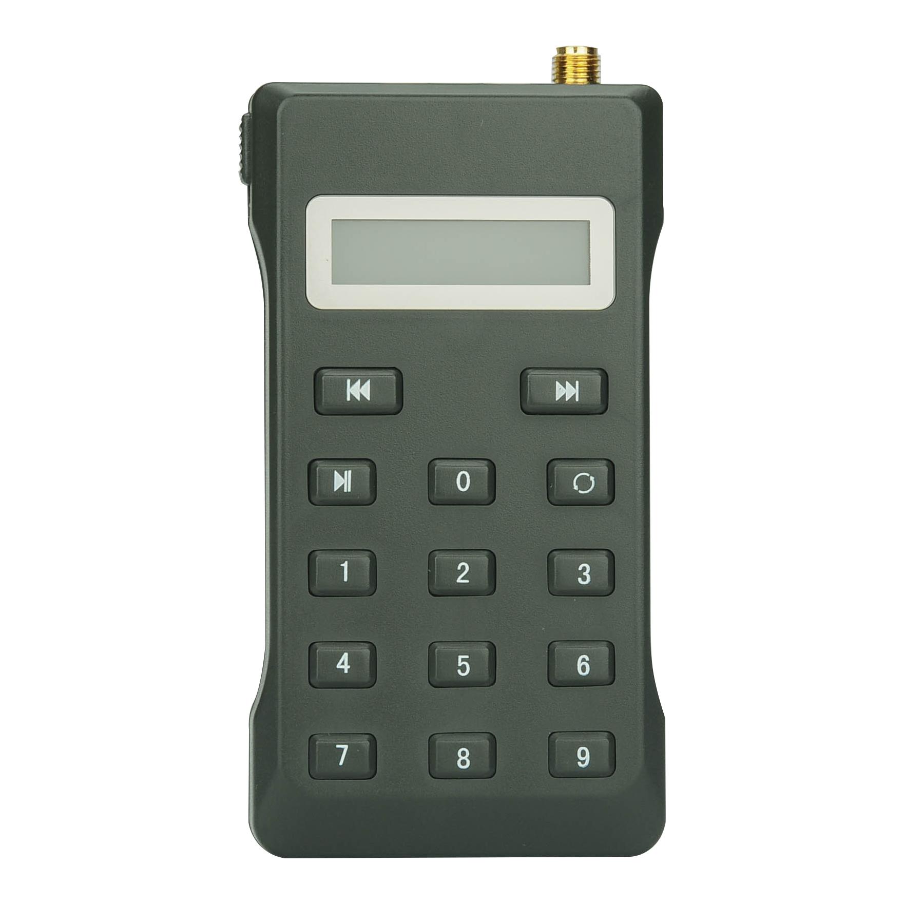 Digital Hunting Bird Caller (Remote Control, 20W Speaker, 150 Bird Sounds, 2200mAh)