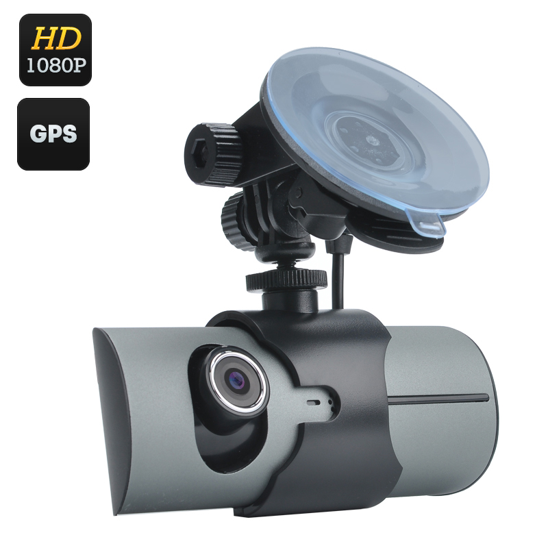Wholesale Dual Camera Car DVR Video Recorder (2.7 Inch, Motion Detection, GPS Logger, G-Sensor, H.264)