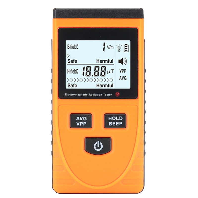 Wholesale Electromagnetic Frequency Radiation Detector with LCD Display (5Hz - 3500MHz, 1 - 1999V/m, Ghost Detector)