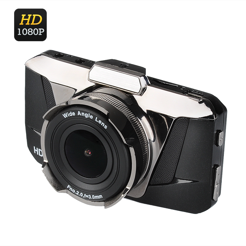 Wholesale Full HD 1080P Car DVR (3.0 Inch LCD Screen, 170 Degree Wide Angle Lens, G-Sensor, Motion Detection)