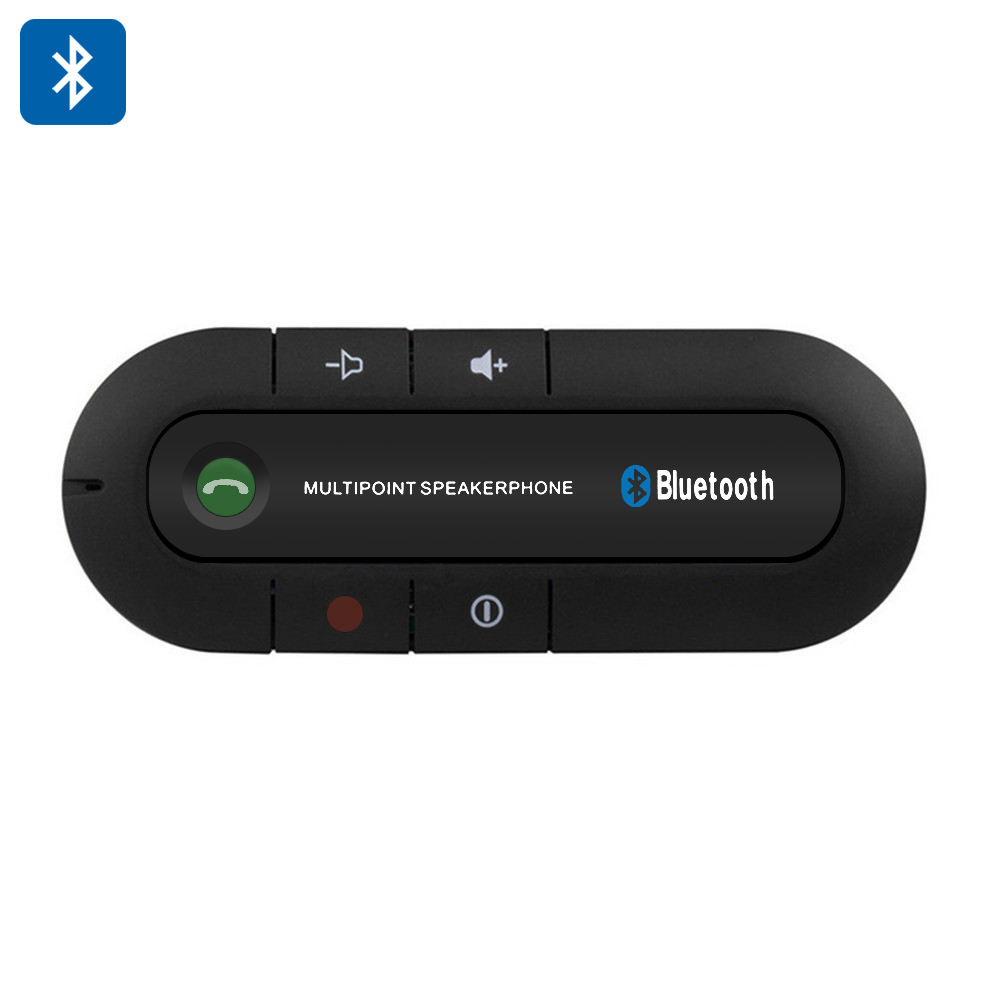 Wholesale Hands Free Bluetooth 4.0 Car Kit Speakerphone (600mAh, 20 Hours