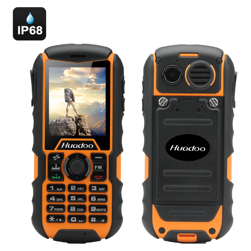 Wholesale Huadoo H1 Rugged Cell Phone (IP68 Waterproof, Dual SIM, Camera,