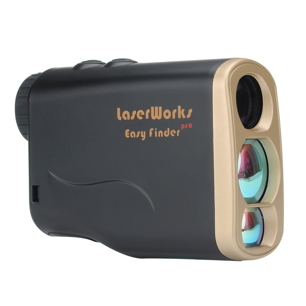 Wholesale LaserWorks LW1000 Pro Weatherproof Golf Rangefinder (Goniometer, Flagpole Lock, 6X Magnification, Anti Fog)