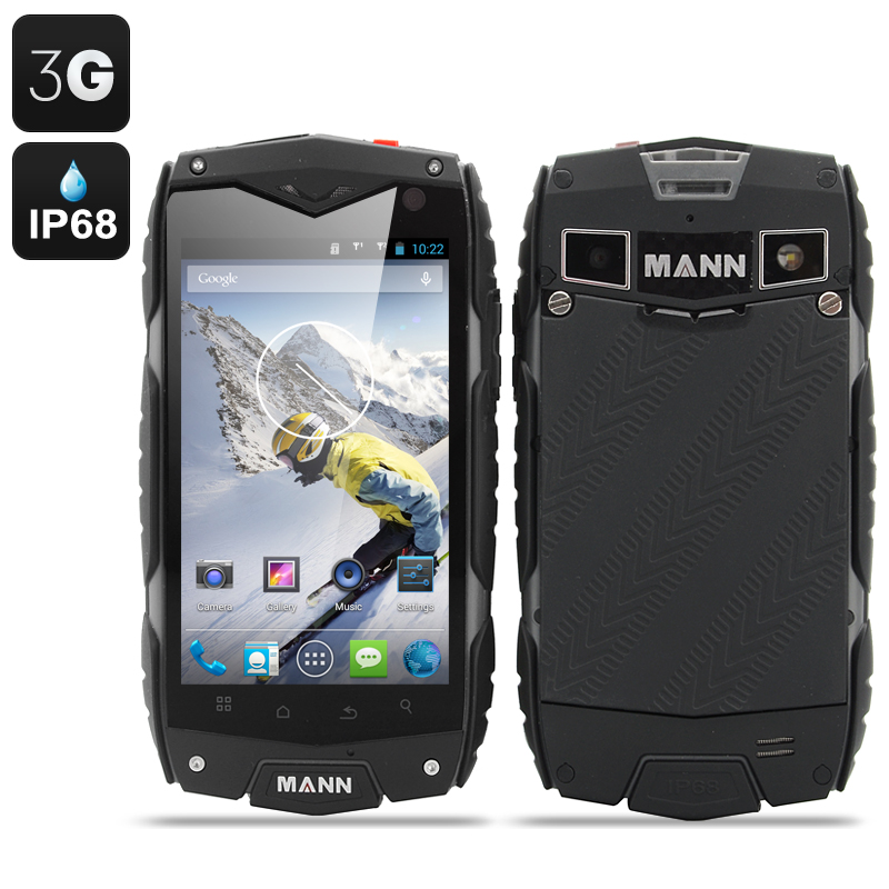 Wholesale MANN ZUG 3 Waterproof Android Smartphone (4 Inch, Shockproof, Du