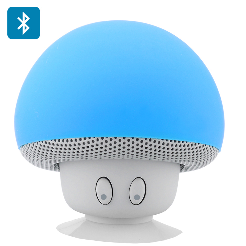 Wholesale Mushroom Mini Bluetooth Speaker with Suction Cup (Splash Proof,