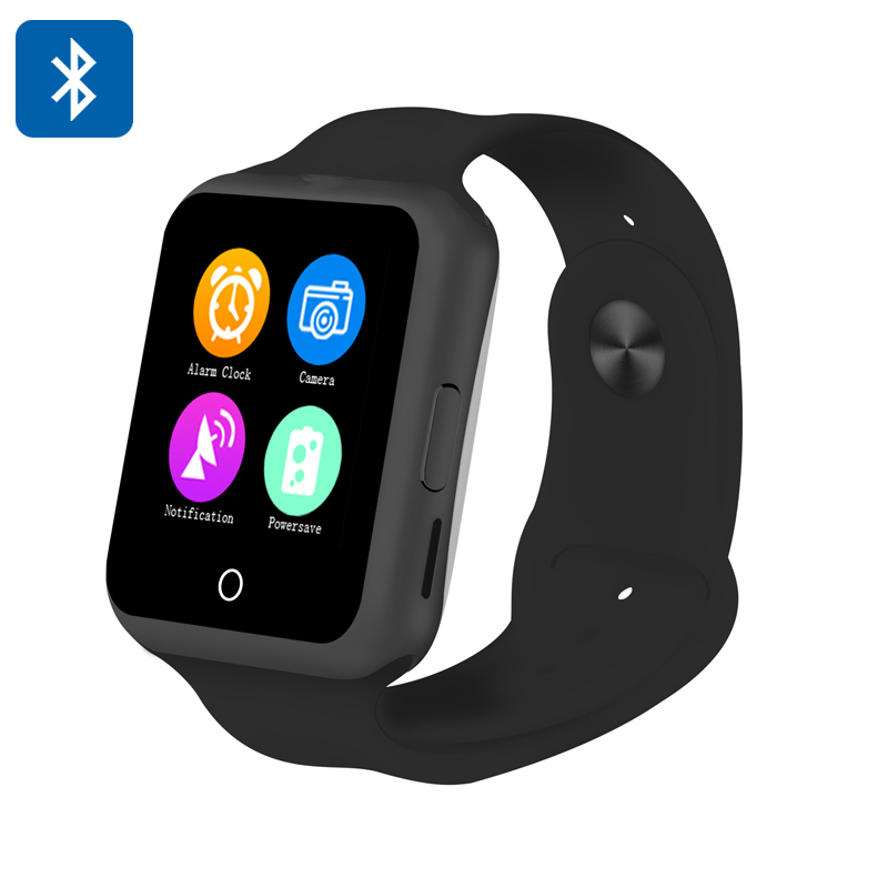 Wholesale NO.1 D3 1.44 Inch Touchscreen Smart GSM Watch Phone (Heart Rate Monitor, Pedometer, Sleep Monitor, Black)