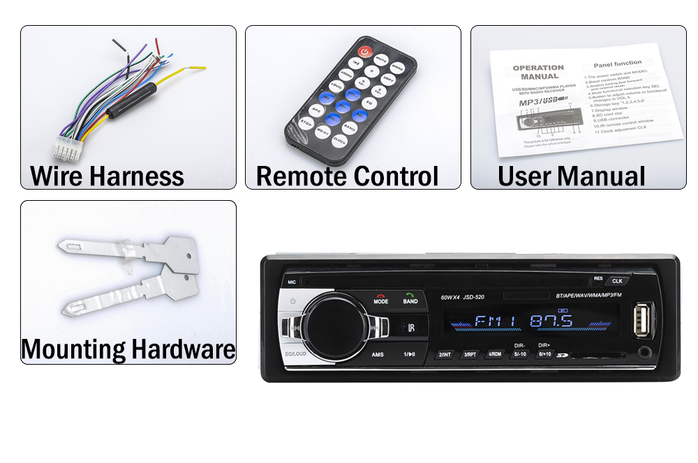 images/wholesale-2016/One-DIN-Bluetooth-Car-Stereo-4x-60W-Speaker-Support-Front-Aux-In-USB-SD-Card-Slot-MP3-WAV-WMA-FM-Tuner-plusbuyer_8.jpg