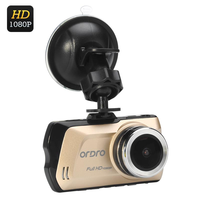 Wholesale Ordro D1 1080P Car DVR Safety Camera (3 Inch LCD, 150 Degree Wid