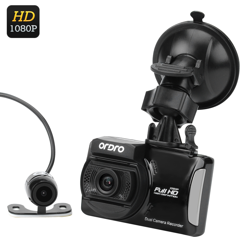 Wholesale Ordro Q503 Full HD 1080P Car DVR + Parking Camera (1/3 Inch CMOS, Loop Recording, Motion Detection)