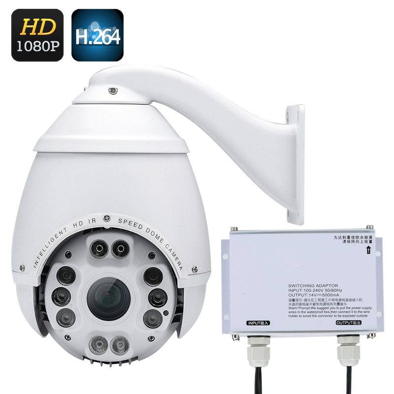 Wholesale Outdoor 1080P Speed Dome Camera (H.264, 1/2.8 Inch CMOS, WDR, 18x Zoom)