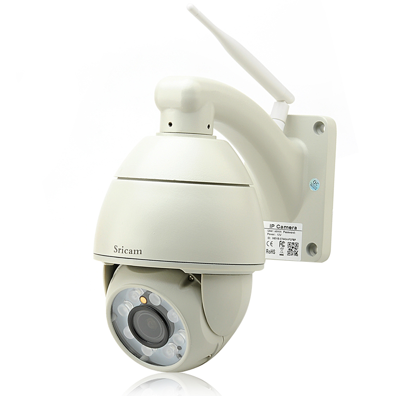 Wholesale Outdoor PTZ 720p Speed Dome IP Camera (Wi-Fi, Motion Detection, 50m Night Vision, P2P, 8x Array LEDs)