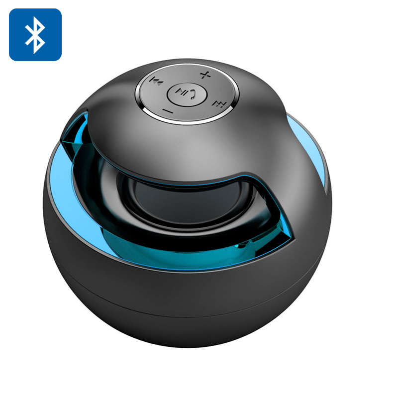 Wholesale Snowball - Portable Stereo Bluetooth Speaker with Color LED Ligh