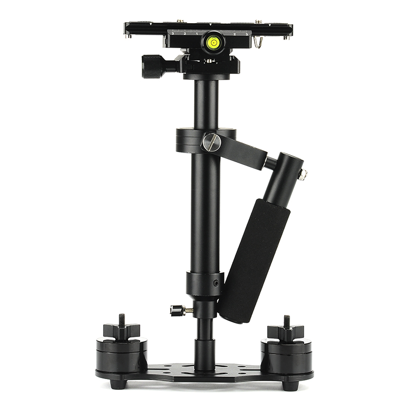 Wholesale S40 Handheld Camera Stabilizer (Aluminum Alloy, Sprit Level, Adjustable Mounts)