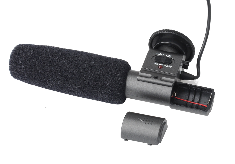 SHENGGU SG-108 Stereo Microphone for DSLR DV Camera Camcorder