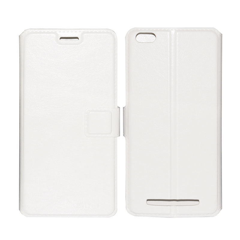 Wholesale Phone Case for Siswoo C50 - Magnetic Clasp, Credit Card Slot, High Quality Leather (White)