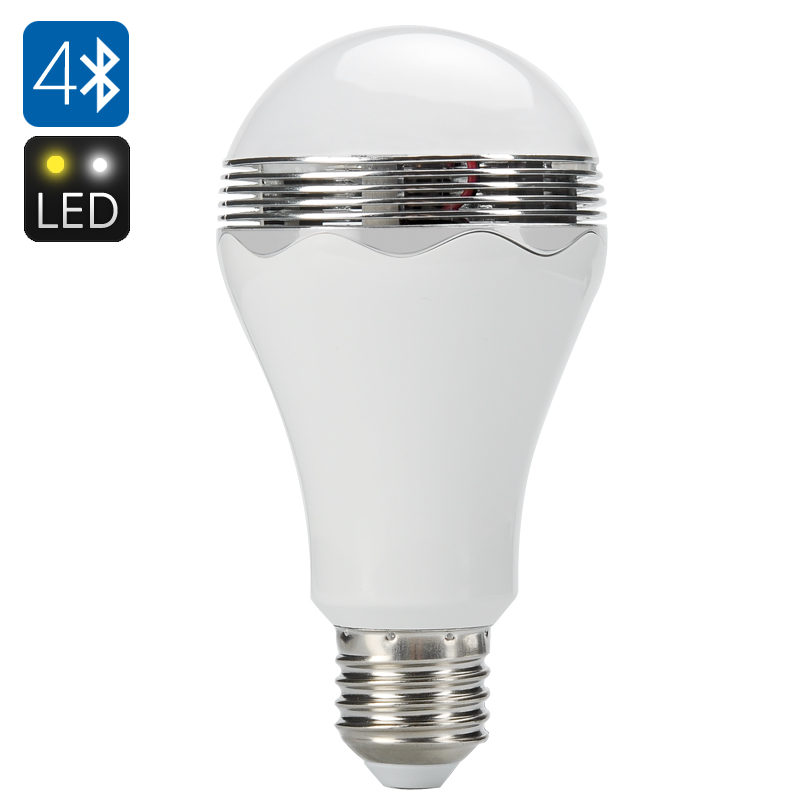 Wholesale Smart Bluetooth LED Light Bulb + Bluetooth 4.0 Speaker (E27, 350