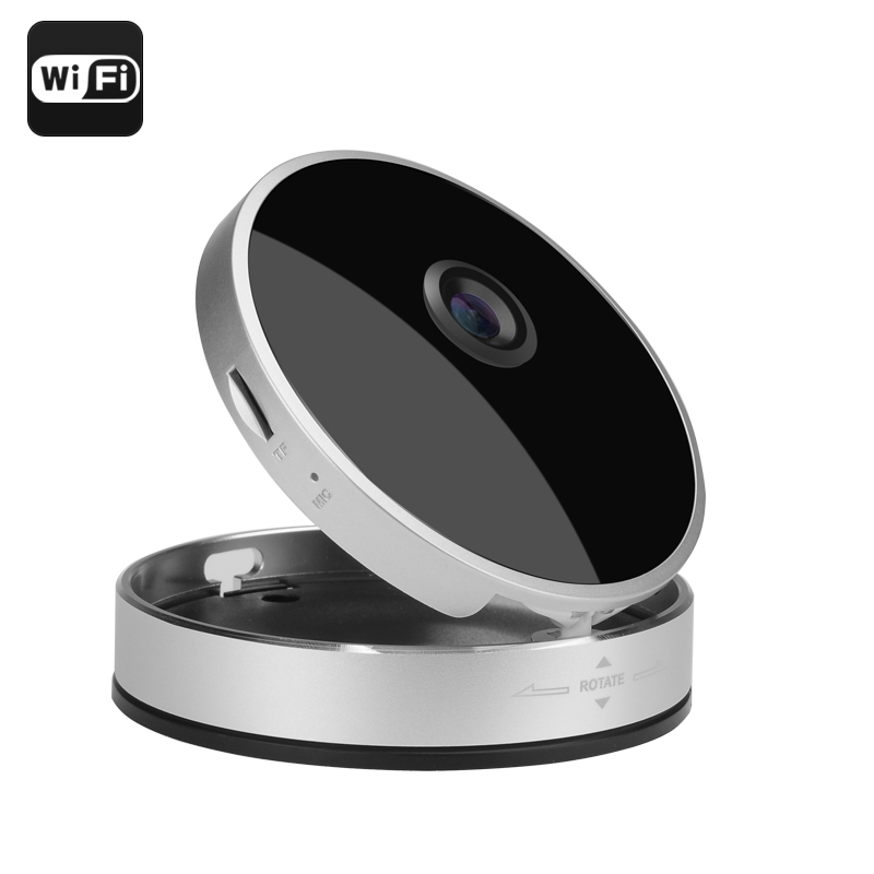 Wholesale Smart Home 720P Wireless IP Camera (Wi-Fi, Night Vision, Motion Detection, Android/iOS View, Two Way Audio, P2P)