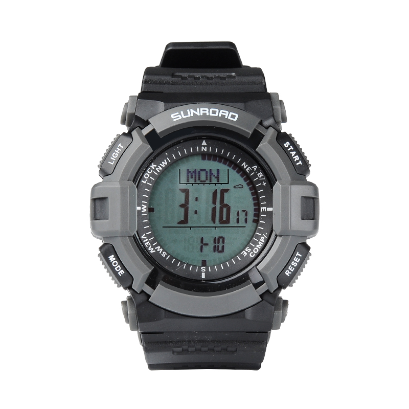 Wholesale Sunroad FR821A Outdoor Sports Watch with Altimeter, Barometer, Compass, Pedometer, Calorie Counter