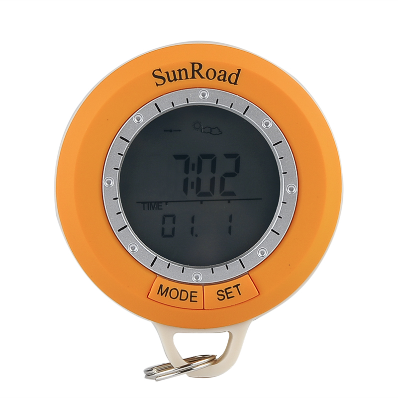 Wholesale Sunroad SR108S 6in1 Hiking Computer (Digital Pedometer, Compass,