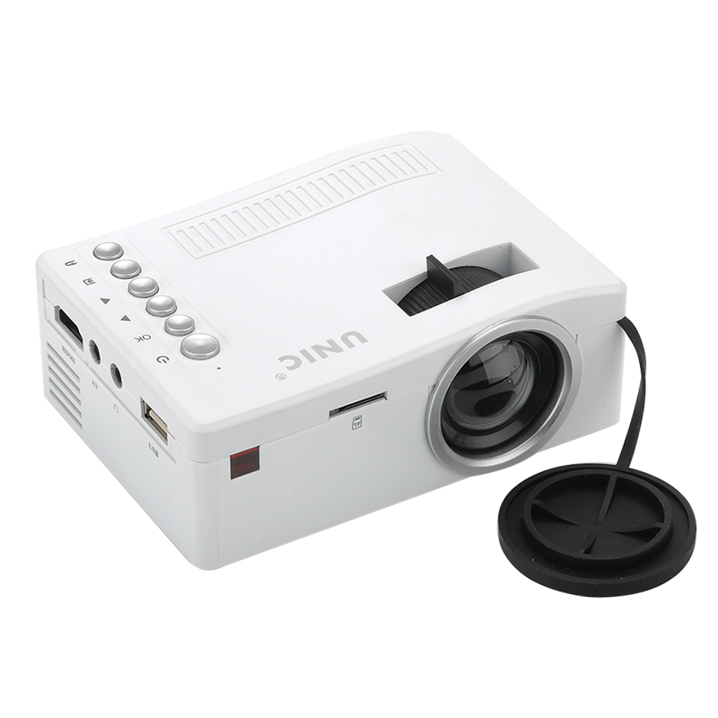Wholesale UNIC UC18 Mini Multimedia Projector (Remote Control, 320x180, 48 Lumens)