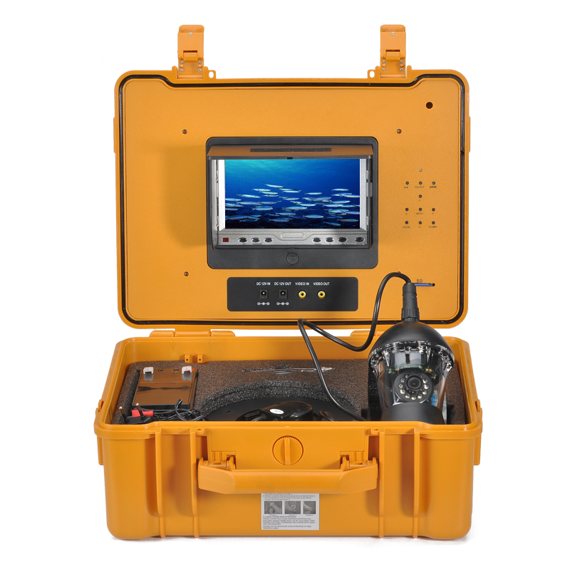 Wholesale Underwater Fishing Camera with 7 Inch Color Monitor and Remote C