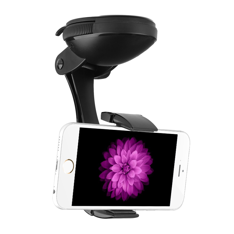Wholesale JPMax Pro - Universal Car Phone Holder (360 Degree Rotation, Suction Cup + Twist Lock)
