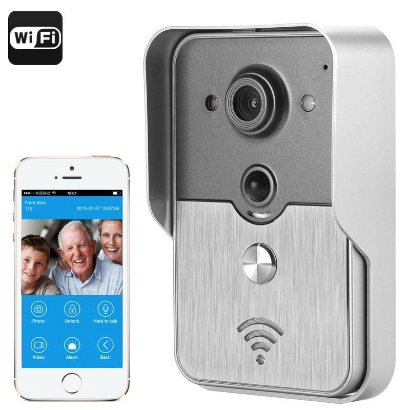 Wholesale Night Vision Video Door Intercom System for iOS/Android (POE, PI