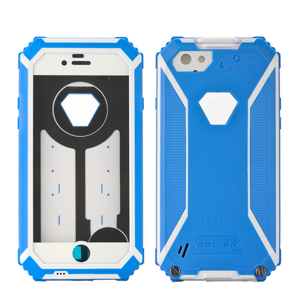 Wholesale Waterproof IP67 Rugged Case for iPhone 6 (Dustproof, Shockproof, Blue)