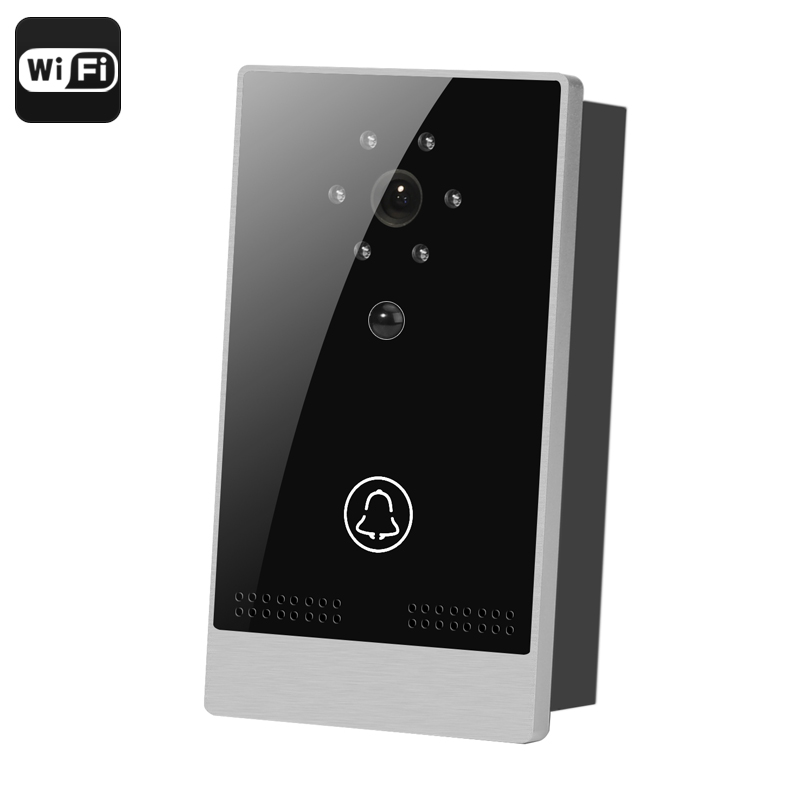 Wholesale Touch Control Wi-Fi Video Door Intercom (PIR Motion Detection, Night Vision, Android/iOS Remote, 1/4 Inch CMOS)