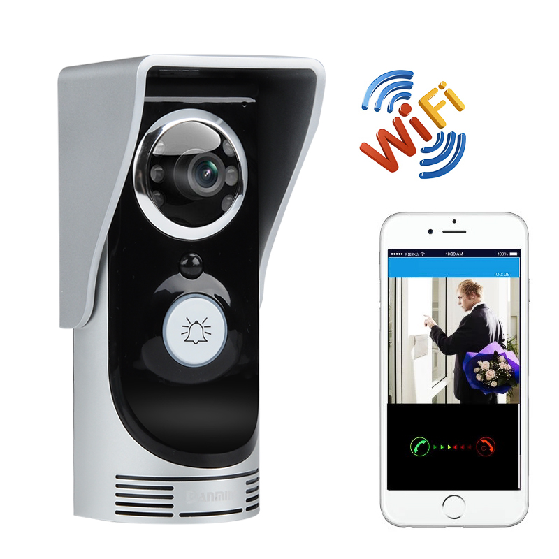 Wholesale Wi-Fi Video Door Intercom + Door Bell (Android/iOS Control, Moti