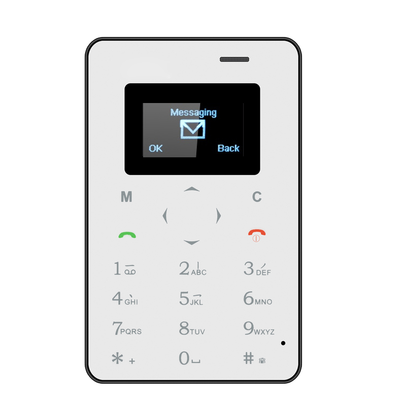 Wholesale Mini 1 Ultrathin Small Phone (Quad Band GSM, Bluetooth Sync, Rem