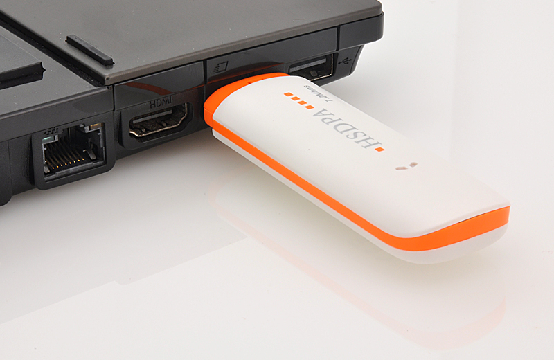 3G USB Modem for Laptops - Plug and Play