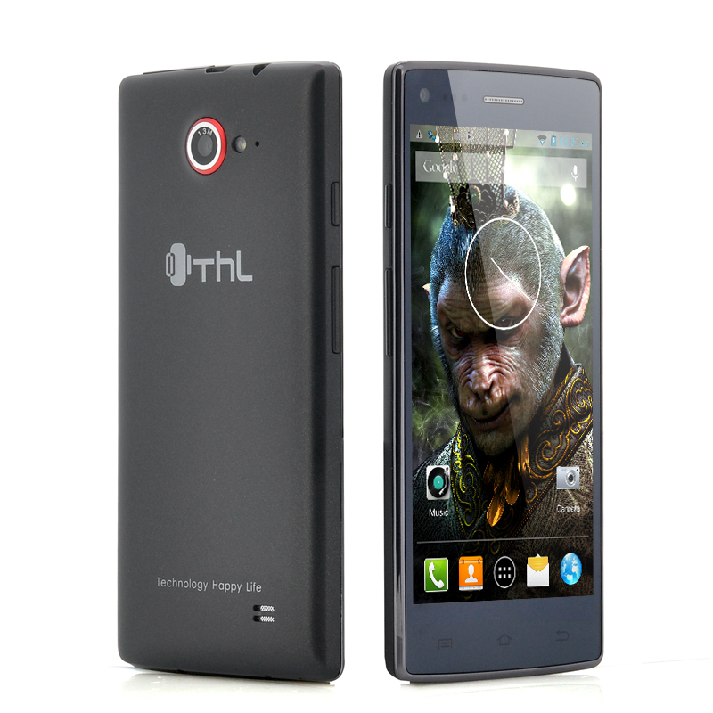 Wholesale ThL W11 Monkey King - 5 Inch Full HD Android 4.2 Phone (13MP Front + Rear Camera, 1920x1080, 4 Core 1.5GHz CPU, 16GB, Black)