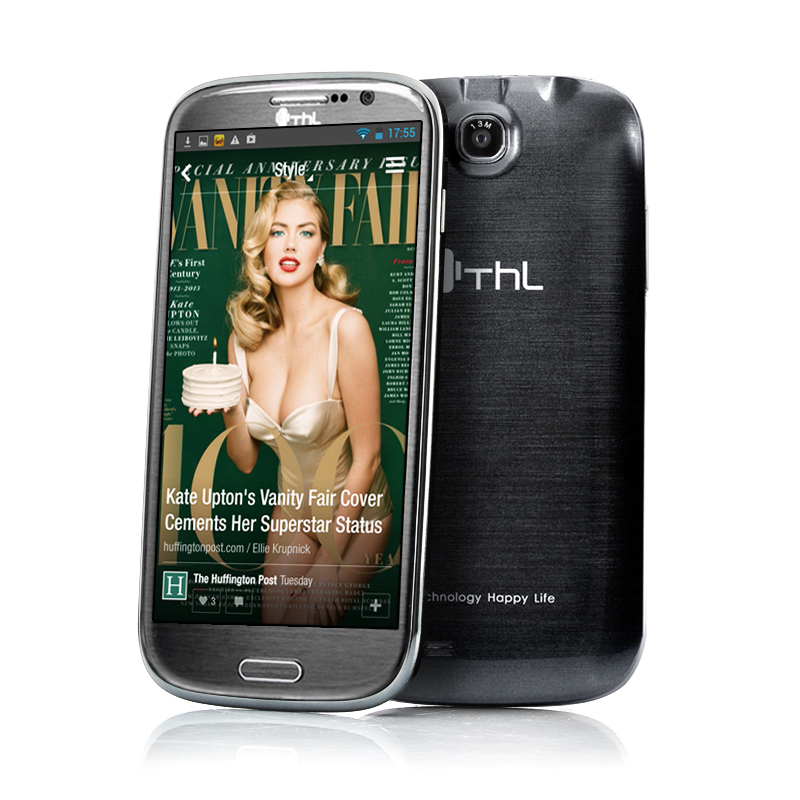 Wholesale ThL W8S - 5 Inch Quad Core Android 4.2 Phone (1920x1080, 440PPI, 2GB RAM, 32GB Memory, Black)