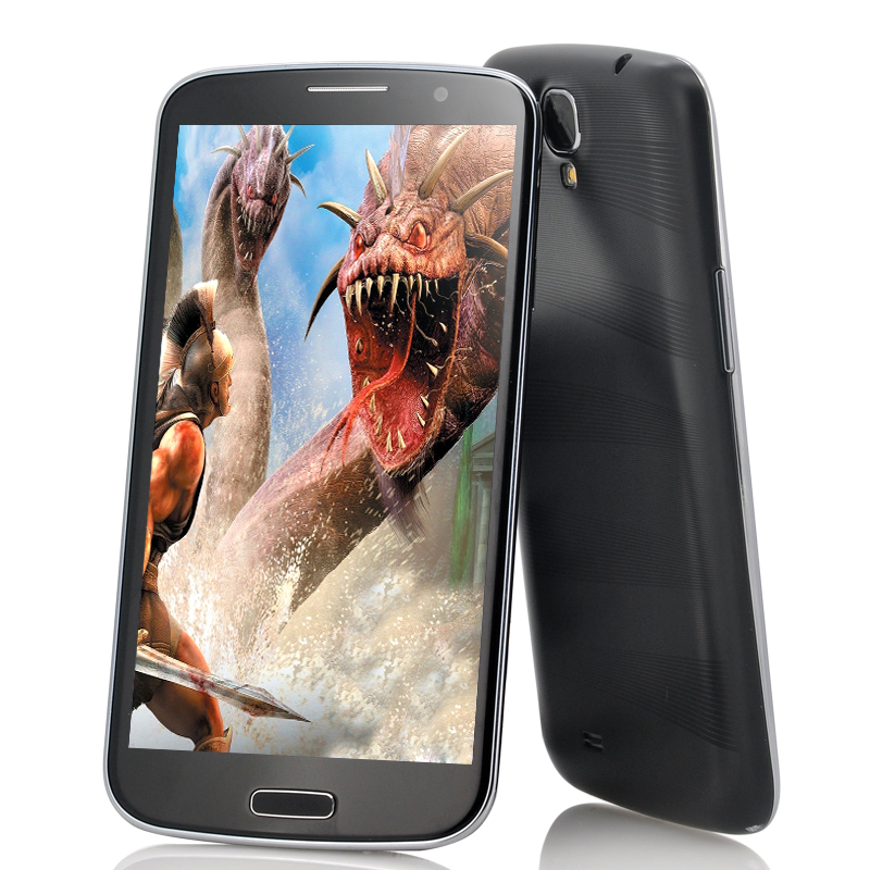 Wholesale Titan - 6.5 Inch Android 4.2 Phone (1.5GHz Quad Core, FHD Retina IPS Screen, 1920x1080, 13MP Camera, Black)