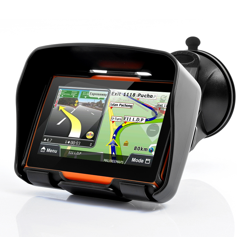Wholesale Rage - All Terrain Motorcycle GPS Navigation System (4.3 Inch Touchscreen, Waterproof, 8GB, Bluetooth)