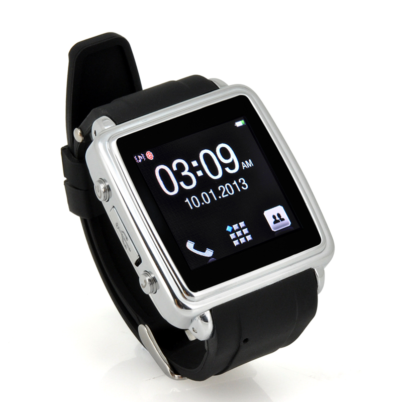 Wholesale MiGo - Bluetooth Touchscreen Smartwatch for Smartphone (Make and Answer Calls, SMS and Phonebook Sync)