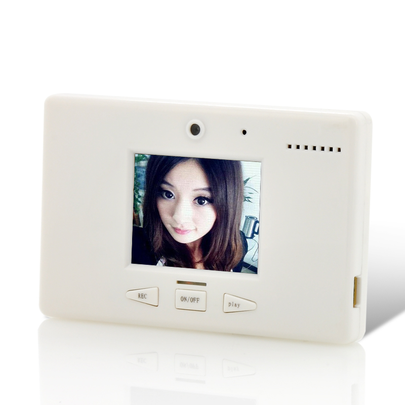 Wholesale Vidly - Digital Video Memo Recorder (Fridge Magnet, 1.8 Inch LCD Screen, Rechargeable)